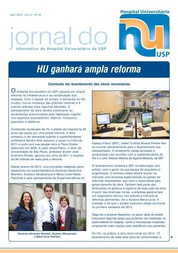 HU 62 b.pmd - Hospital Universitário – USP