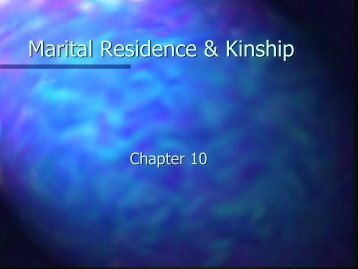 Kinship and Descent