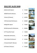 SOLD BY ALEX SHIN - Harcourts - Page 3