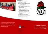 ErSie Flyer - Jusos Hochschulgruppe Hannover