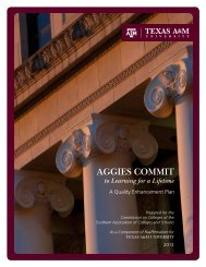 aggies commit - Office of the Provost and Executive Vice President ...
