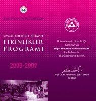 katılımlarınızla onurlandırmanızı dilerim. Prof. Dr. H. - Kayham ...