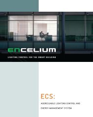 lighting control for the smart building addressable ... - Osram Sylvania