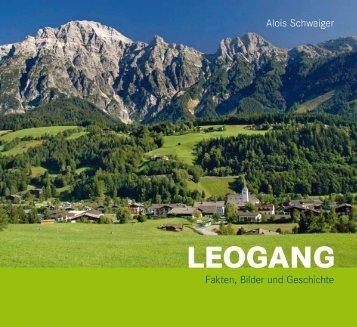 Anstelle eines Vorwortes - Bergbau und Gotikmuseum Leogang