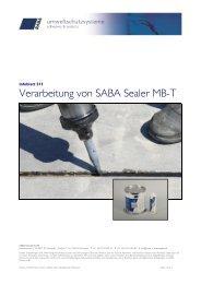 Verklebung von Scheiben mit SABA Glasstack 760