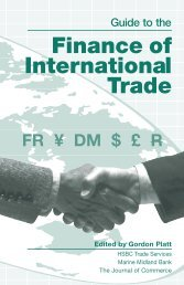 Guide To The Finance Of International Trade - Tree Fruit Research ...