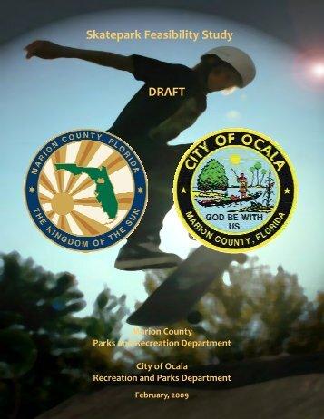 Skatepark Feasibility Study - Marion County Florida