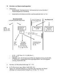 3 IV Korrektur von Steuerverwaltungsakten