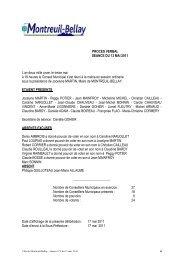 procès verbal du 13 mai 2011 - Montreuil-Bellay