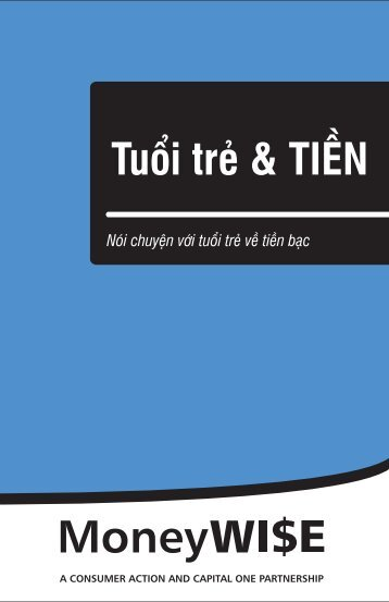 Tuổi trẻ & TIỀN - Consumer Action