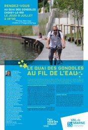 au fil de l'eau - Conseil général du Val-de-Marne