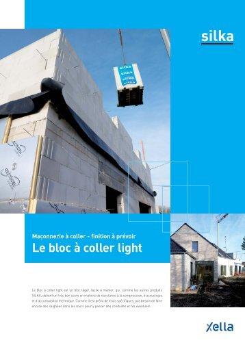 Le bloc à coller light - Xella