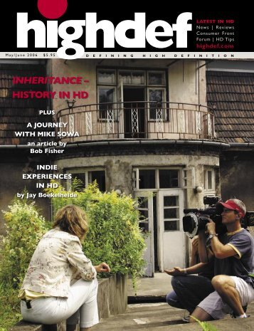 INHERITANCE HISTORY IN HD - highdef magazine