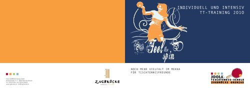 individuell und intensiv tt-training 2o1o - Hotel Zugbrücke Grenzau ...