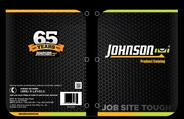 Product Catalog - Johnson Level