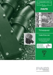 Timesaver Trade Price List May 2013 - Saint-Gobain PAM UK