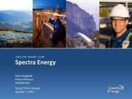 Spectra Energy - City of Prince George