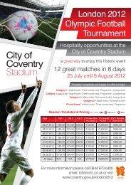 City of Coventry Stadium - Coventry 2012
