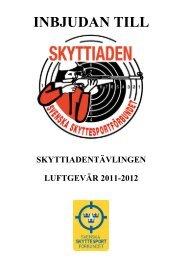 INBJUDAN TILL - Västerbottens Skytte