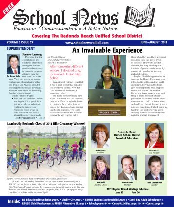 Covering The Redondo Beach Unified School District