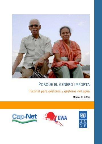 PORQUE EL GÉNERO IMPORTA - Development - the United Nations