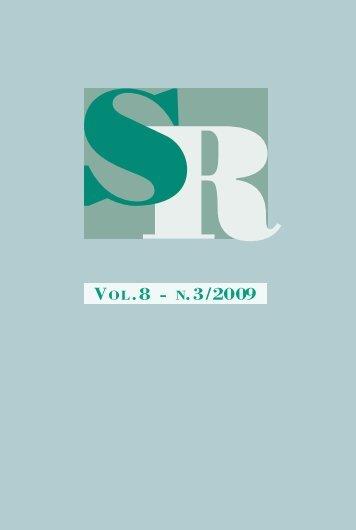 Scienze Regionali - Franco Angeli Editore