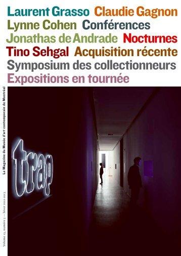 Magazine du Musée — Volume 23, numéro 3 — hiver 2013 ...