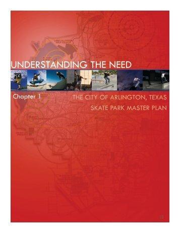 Chapter 1 - Understanding the Need - City of Arlington