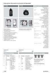 Interruptores de posición con función de Seguridad - KASBASE