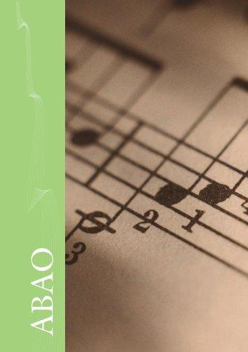 Abao by Bergerault: Percusión sinfónica - Musical El Arco Iris