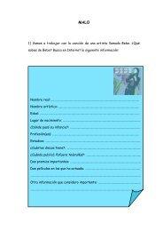 Materiales para la actividad - TodoEle.net