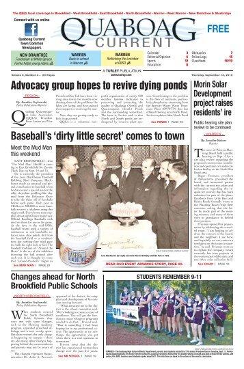 September 13, 2012 pdf edition - Quaboag Current