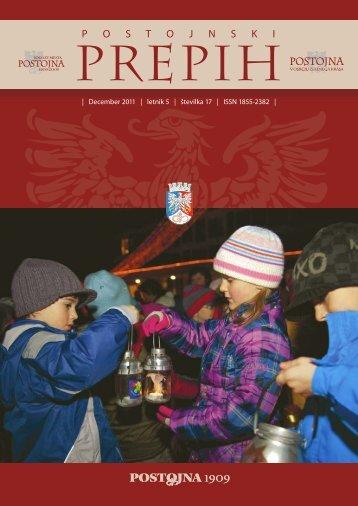 December 2011 - Občina Postojna