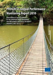 Progress Annual Performance Monitoring report 2010 - European ...