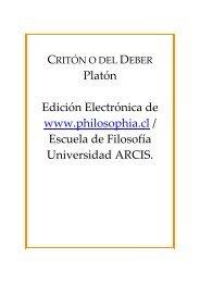 Critón o del Deber - Philosophia.cl
