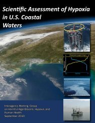 Scientific Assessment of Hypoxia in U.S. Coastal ... - The White House