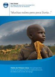 """Muchas nubes pero poca lluvia..."" - PreventionWeb"
