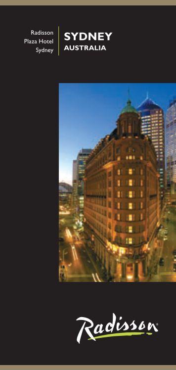 Hotel Brochure - Radisson.com