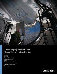 VE Competency Brochure - Christie Digital Systems