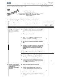 Ausbildungsrahmenplan Segelmacher - Wir gestalten Berufsbildung