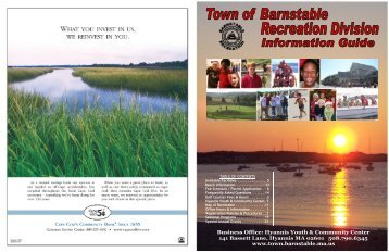 Business Office - Town of Barnstable