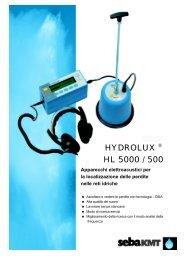 (1121 KB) Prospetto - HL 500 - Volta SpA