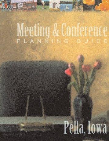 Table Of Contents - Pella, Iowa