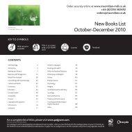 New Books List October-December 2010 - Who-sells-it.com