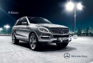 M-Klasse. - Mercedes-Benz Magyarország
