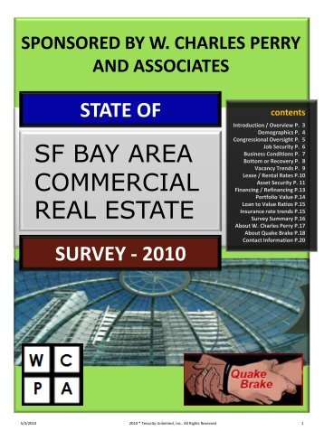 "2010 ""State of the"" San Francisco Bay Area Commercial Real Estate ..."