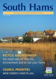 Issue 3, Spring 2006 - South Hams District Council