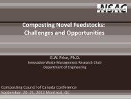 Gordon Price, Nova Scotia Agricultural College (NSAC) - Compost ...
