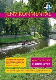Baltic Cities Environmental bulletin 2/2010 - BaltCICA