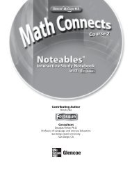 Noteables Interactive Study Notebook - McGraw-Hill Higher Education